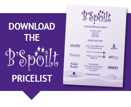 Download B'Spoilt Treatments Pricelist 2016